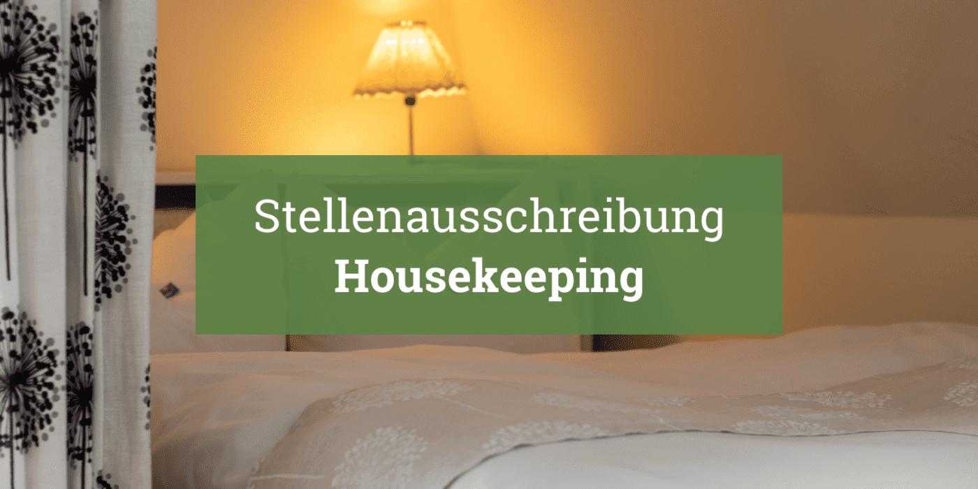 Landhaus Himmelpfort am See Stellenausschreibung Housekeeping